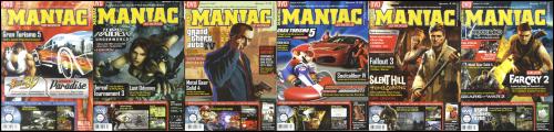 Maniac 02/2008-07/2008